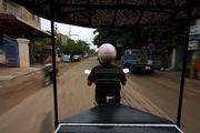 Полли везет нас в Ангкор / Камбоджа