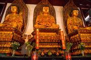 Статуи трех Будд / Китай