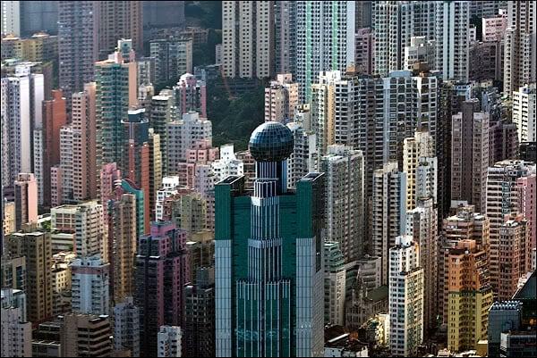 Небоскребы Гонконга / Фото из Гонконга