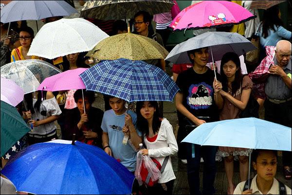 Жители Гонконга / Фото из Гонконга