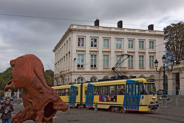 На улице Брюсселя / Фото из Бельгии