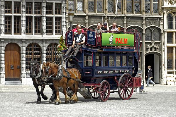 Площадь Draakplaats в Антверпене / Фото из Бельгии