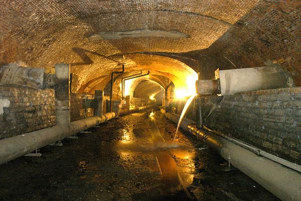 Подземелья Антверпена / Фото из Бельгии