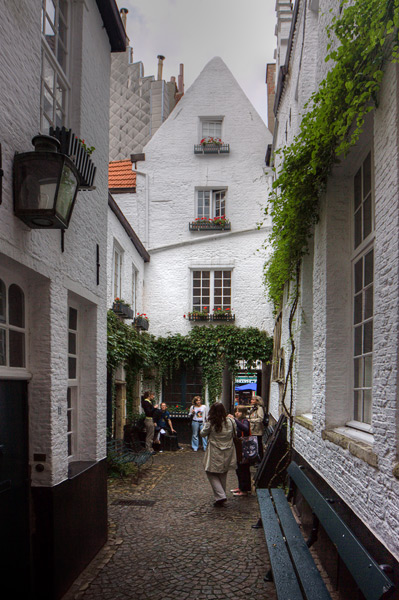 Улица Vlaeykensgang  / Фото из Бельгии