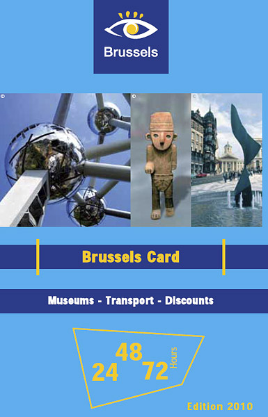 Брюссельская карта / Фото из Бельгии