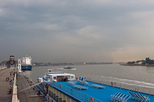 Река Шельда в Антверпене / Фото из Бельгии