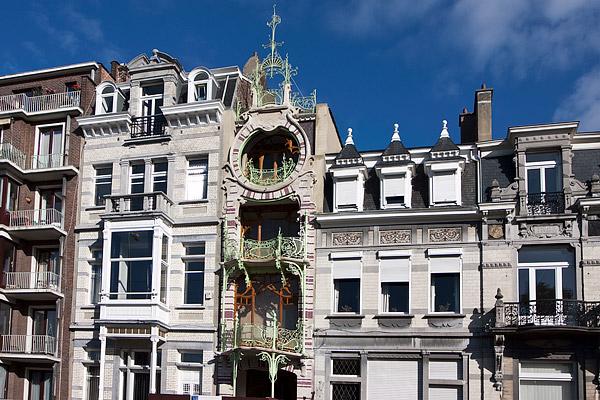 Дом в стиле ар-нуво в Брюсселе / Фото из Бельгии