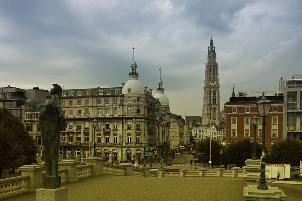 Вид Антверпена / Фото из Бельгии