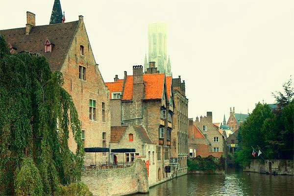 Вид Брюгге / Фото из Бельгии