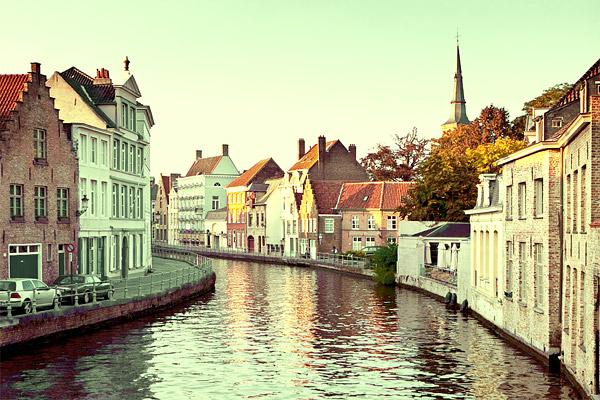 Каналы Брюгге / Фото из Бельгии
