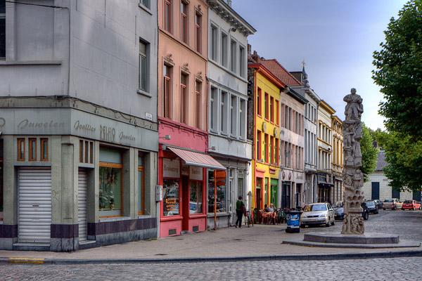 Фасады домов в Генте / Фото из Бельгии
