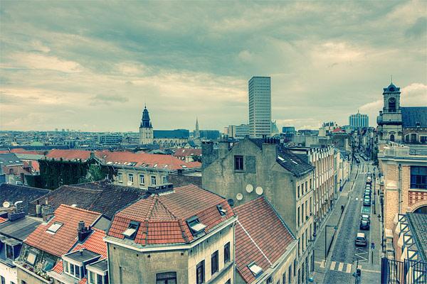 Вид на Брюссель / Фото из Бельгии