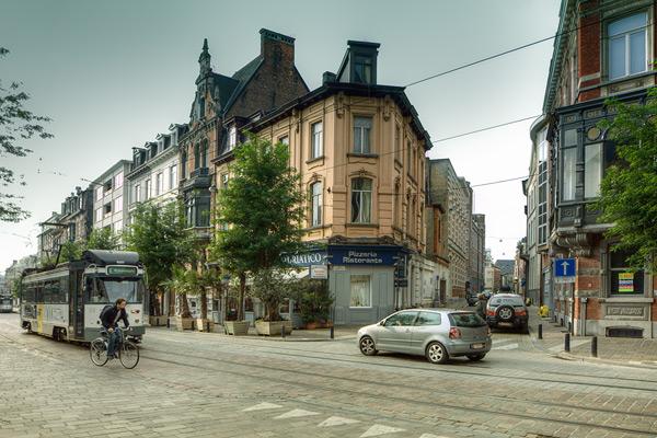 Улица Sleepstraat в Генте / Фото из Бельгии