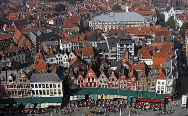 Вид с башни Belfry / Фото из Бельгии