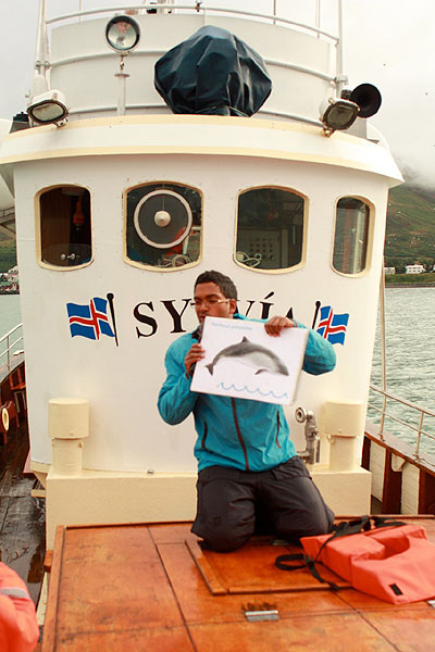 Инструктаж перед выходом в море / Фото из Исландии