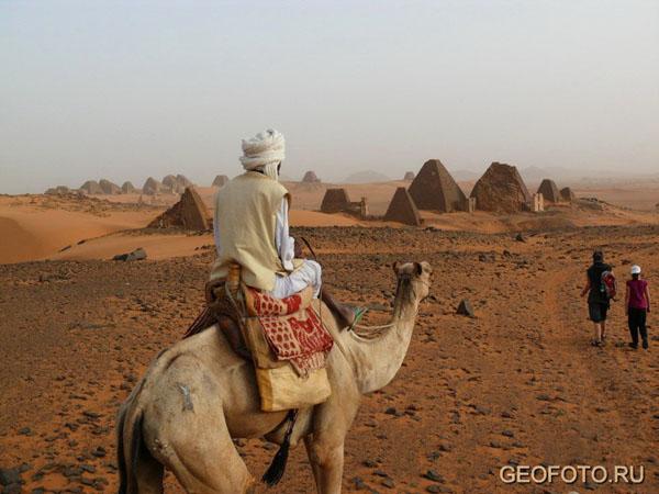 Местный житель, Мероэ / Фото из Судана