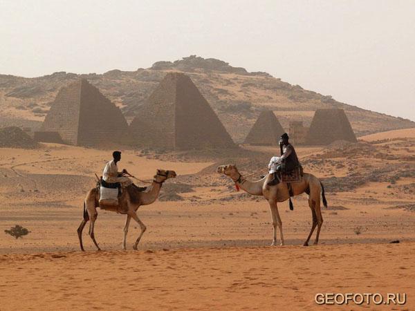 Встреча двух бедуинов / Фото из Судана