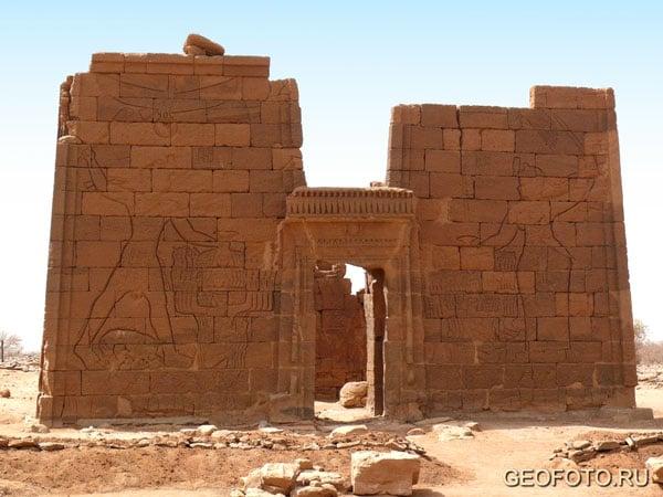 Львиный храм (I в. до н. э. – I в. н. э.), Нага / Фото из Судана