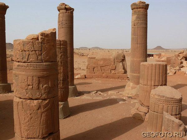 «Большой комплекс» (храм Амона, «слоновий храм»), Мусавварат-эс-Софра / Фото из Судана