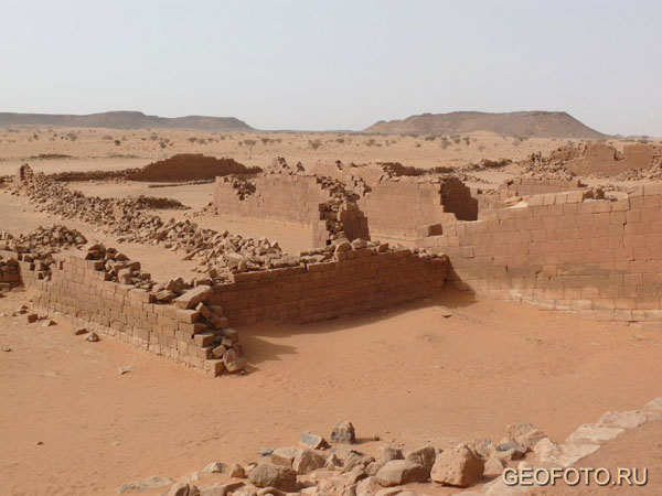 «Большой комплекс», Мусавварат-эс-Софра / Фото из Судана
