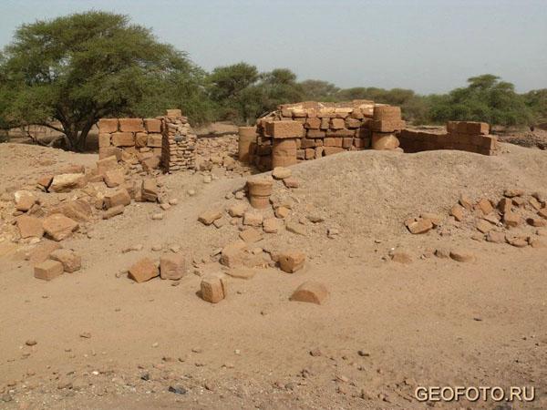 Царский город  в Мероэ / Фото из Судана