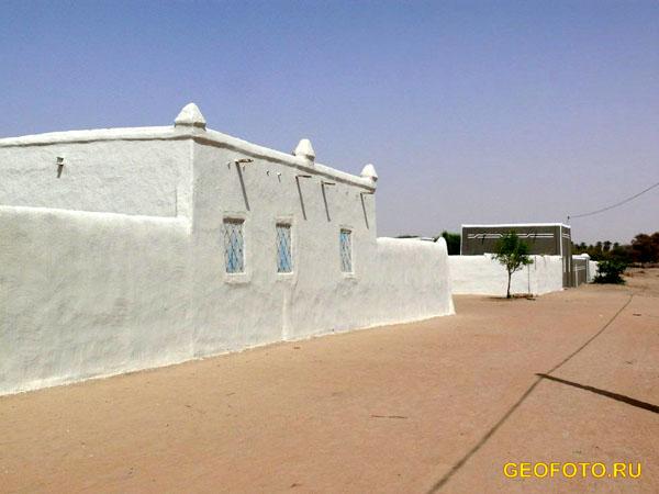 Нубийская деревня / Фото из Судана