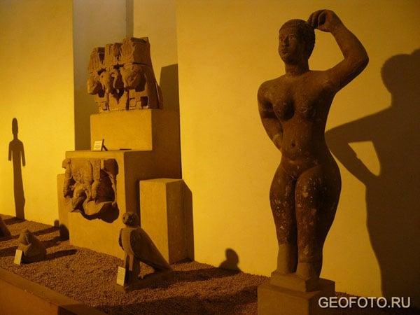 Экспозиция Национального музея в Хартуме / Фото из Судана