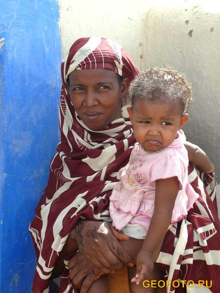 Нубийцы донагла / Фото из Судана