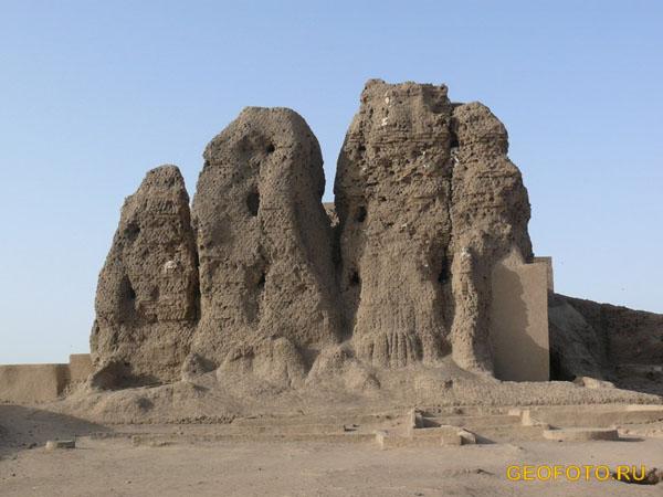 Дефуфа («большая постройка») в Керме / Фото из Судана