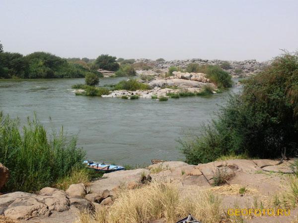 Пороги на Ниле / Фото из Судана
