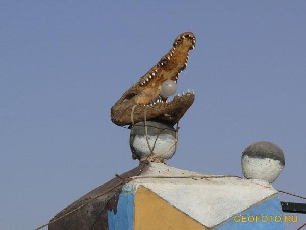 Оригинальный светильник / Фото из Судана