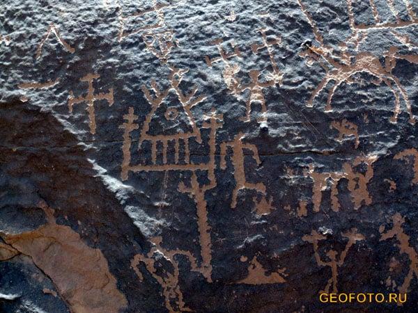 Древние петроглифы, IV –III тыс. до н. э. / Фото из Судана