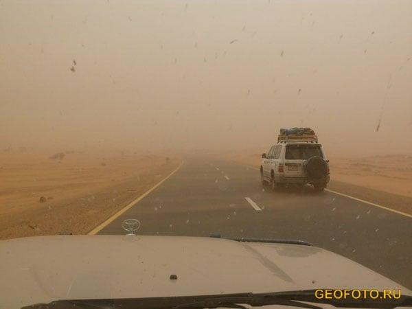 Песчаная буря в Судане / Фото из Судана