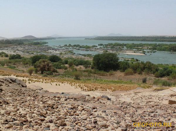 Третий порог Нила / Фото из Судана
