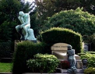 На кладбище / Бельгия