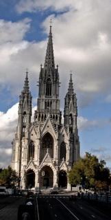 Неоготическая церковь / Бельгия