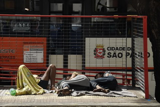 Нищие Сан Пауло / Бразилия