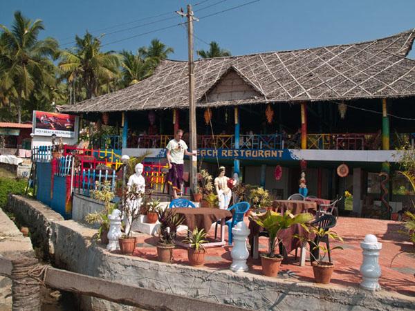 Ресторан в North Cliff, Варкала / Фото из Индии