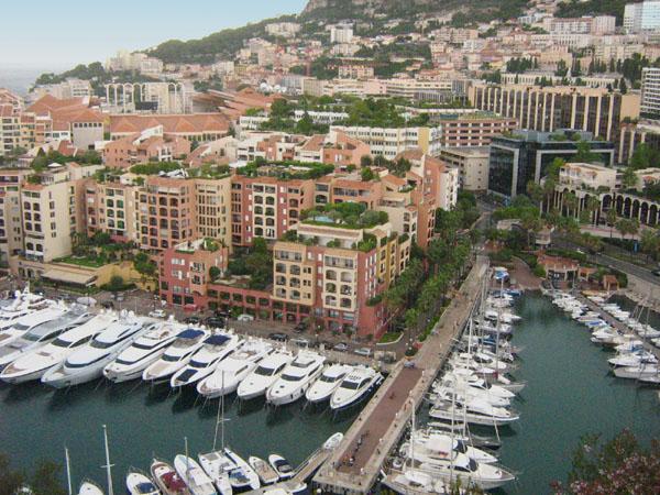 Вид на Монако / Фото из Монако