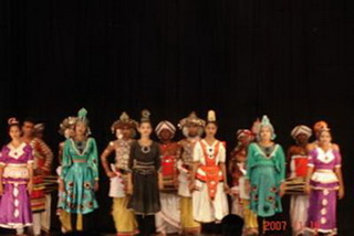 Национальное танцевальное шоу / Шри-Ланка