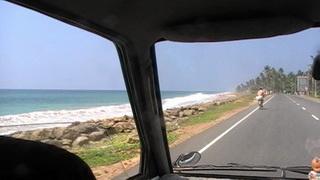 По трассе вдоль берега / Шри-Ланка