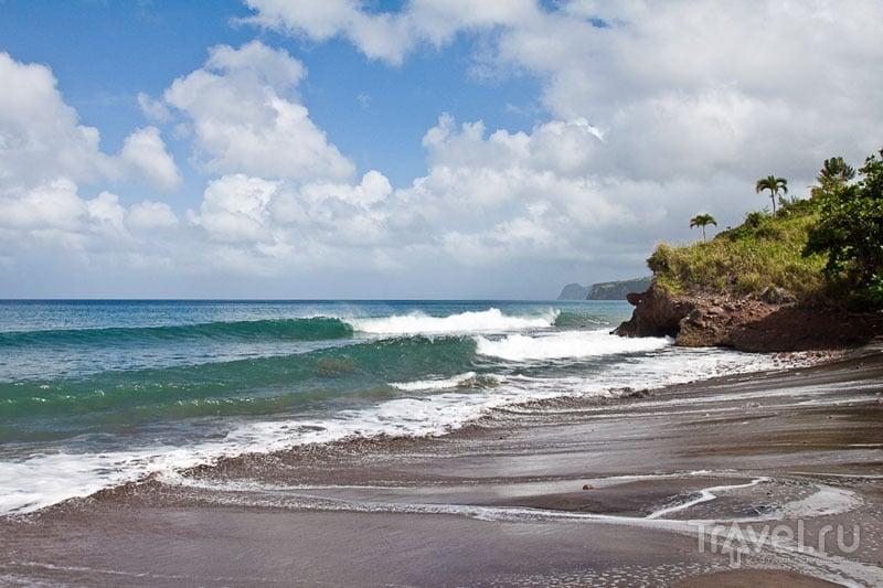 Пляж на Карибах / Фото из Монтесеррата