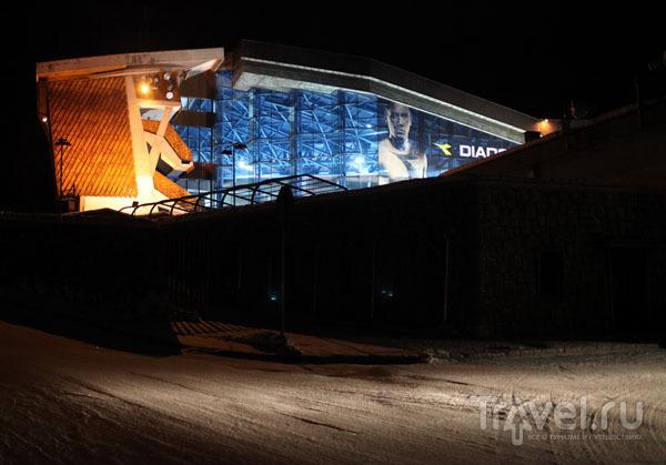 Олимпийский спортивный центр в Кортине / Фото из Италии