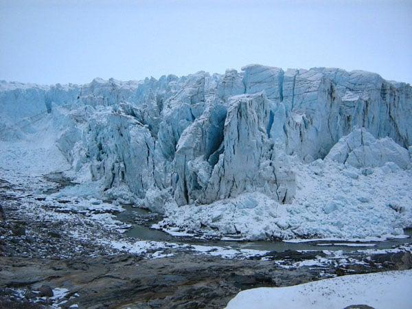 Ледник в Гренландии / Фото из Гренландии