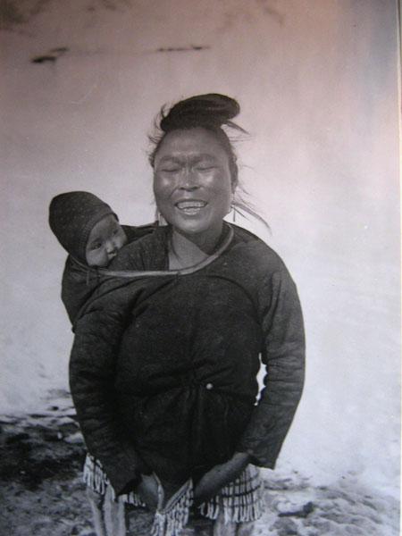 Фотография коренной жительницы Гренландии из коллекции Краеведческого музея / Фото из Гренландии