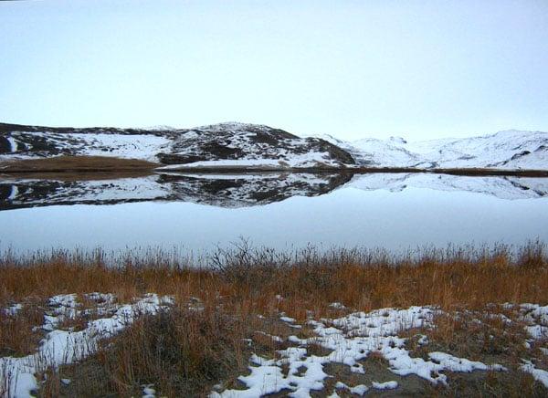 Озеро в Гренландии / Фото из Гренландии