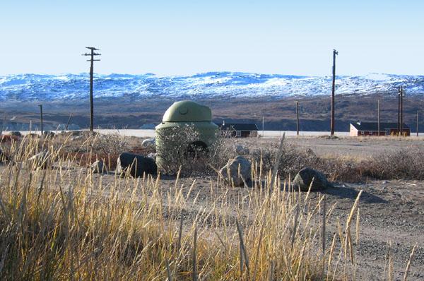 Здание бывшей американской военной базы в Гренландии / Фото из Гренландии