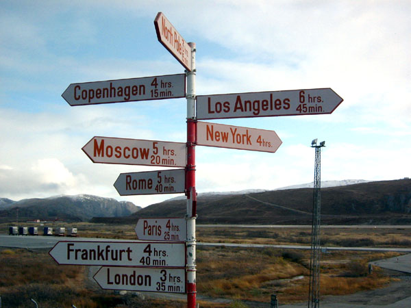 В аэропорту Kangerlussuaq / Фото из Гренландии