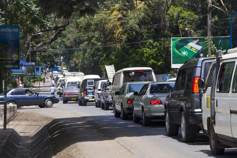 Улица в Аруше, Танзания / Фото из Танзании