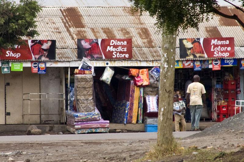 Магазины в Аруше, Танзания / Фото из Танзании